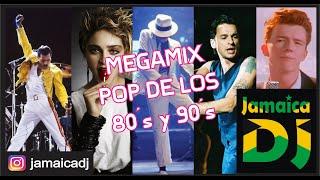 Clásicos Pop de los 80 y 90´s - Mega enganchados DJ Jamaica