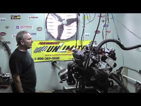 408CI 351W Based Stroker Crate Engine Dyno Test - YouTube