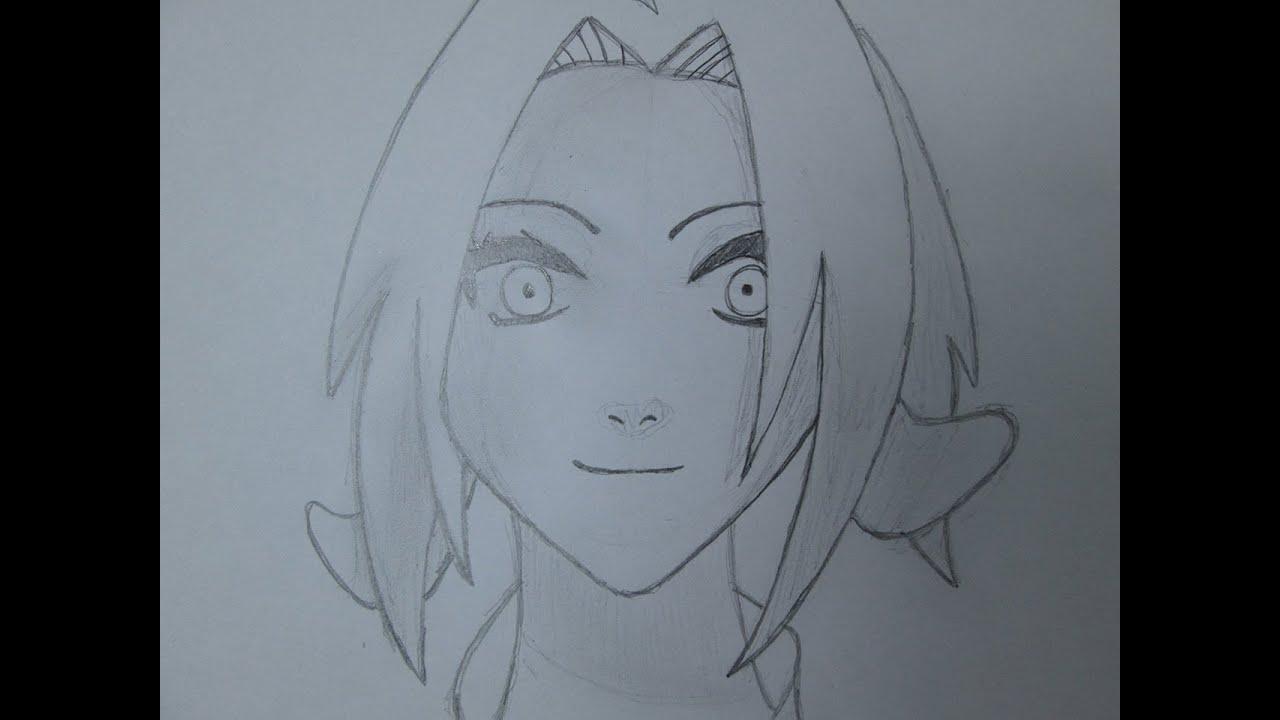 Cómo Dibujar Sakura Haruno De Naruto
