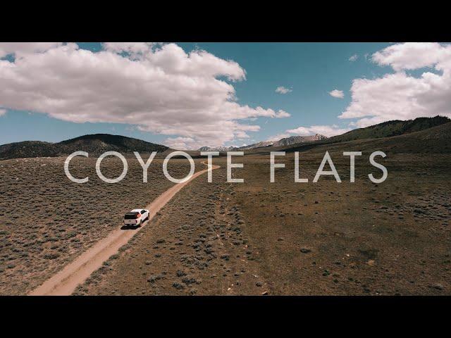 Coyote Flats Funnel Lake - Overland Exploration 4k
