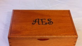 Mahogany Jewelry Boxes