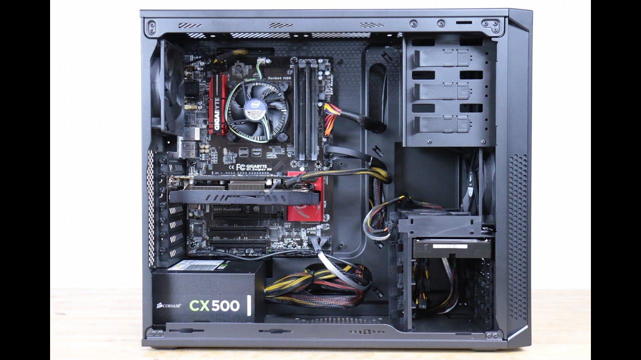 760 Gaming PC Build  Intel Core i54460  PNY GeForce