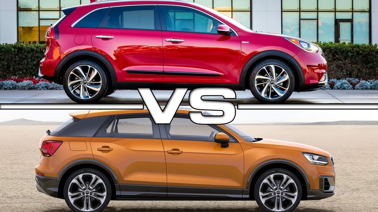 Kia Niro Vs Audi Q2 Road Test