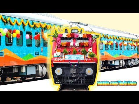 India's most BEAUTIFUL Train | Humsafar Express | Tirupati - Jammu Tawi