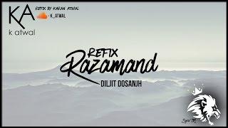 Razamand | Refix | Sardaarji 2 | Diljit Dosanjh, Sonam Bajwa, Monica Gill | Syco TM