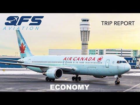 TRIP REPORT | Air Canada - 767 300 - Calgary (YYC) To Toronto (YYZ) | Economy