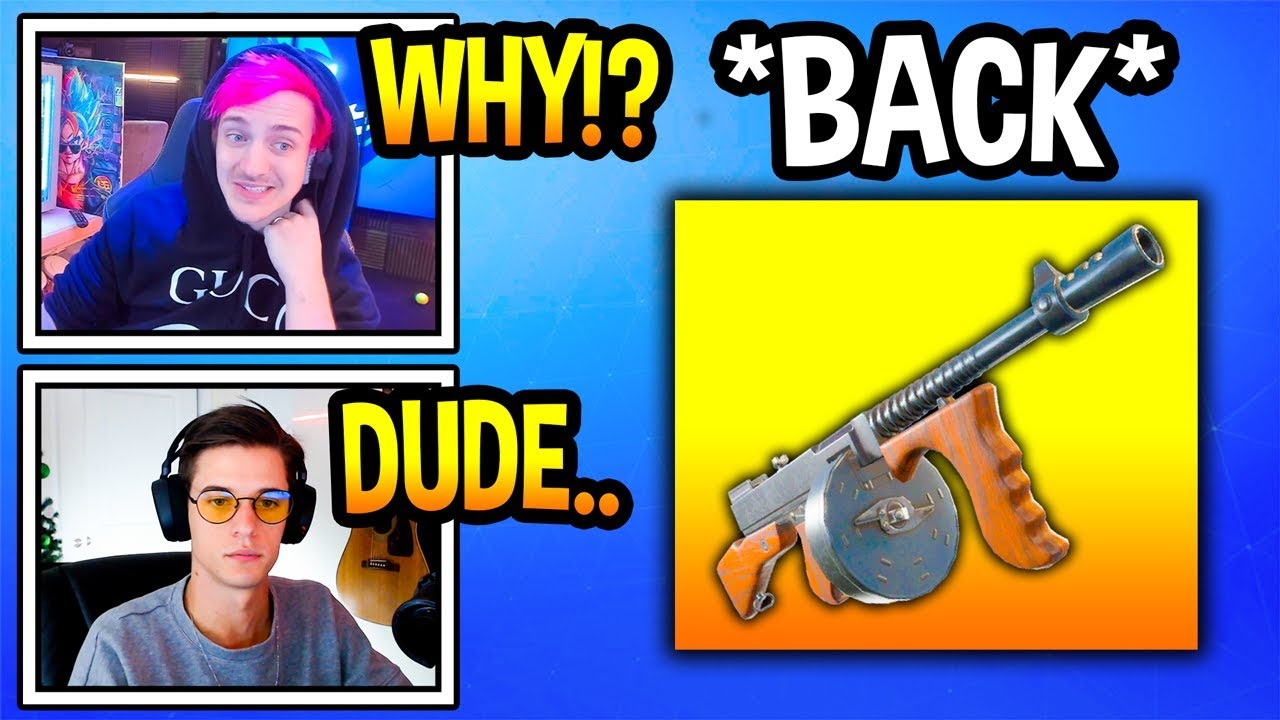 streamers-react-to-drum-gun-back-in-fortnite-fortnite-moments