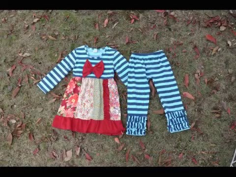 Infant Toddler & Baby Girls Clothing 2pcs Set Boutique Outfit