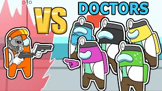 Download 9 DOCTORS vs SUPER IMPOSTOR (among us mods)
