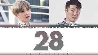 Download Mp3 Agust D - '28'  Feat Niihwa  Lyrics  Color Coded_han_rom_eng