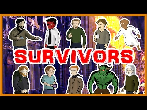 Survivors - FULL Apocalytpic Movie Novel!! (an illustrated audiobook)