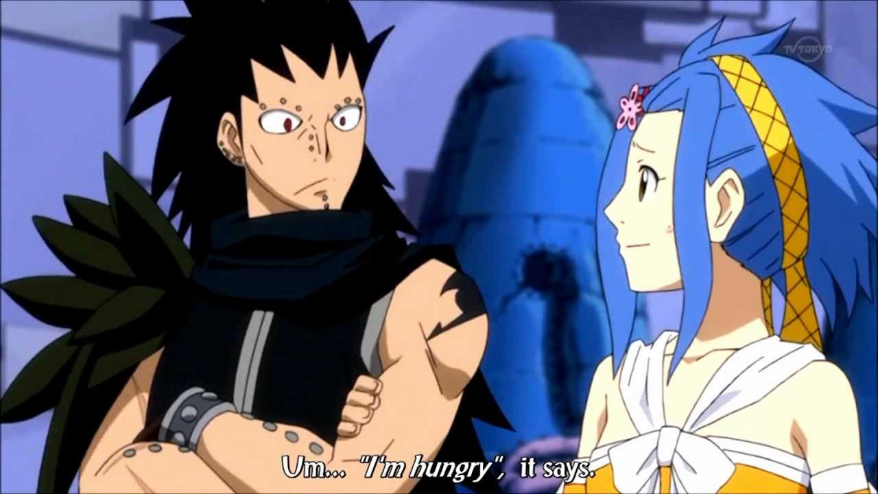 what episode do gajeel and levy meet