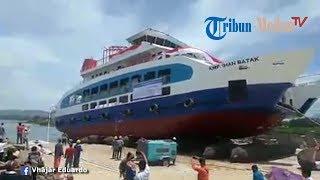 Peluncuran KMP Ihan Batak ke Danau Toba - Stafaband