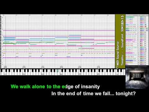 """[MIDI] Circus Maximus """"A Darkened Mind"""" [vocal-less, off-vocal] KARAOKE from """"Isolate"""""""