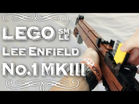LEGO Lee-Enfield No.1 MKIII (SMLE) With Bayonet + Scope!