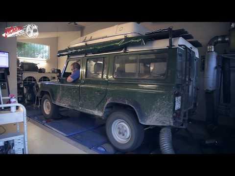 Totalcar Erőmérő: Land Rover Defender 300 Tdi
