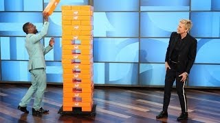 Download Kevin Hart and Ellen Play Jenga Mp3 and Videos