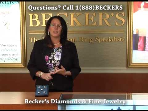 Diamond Engagement Halo Rings at Becker's Diamonds and Fine Jewelry West Hartford CT