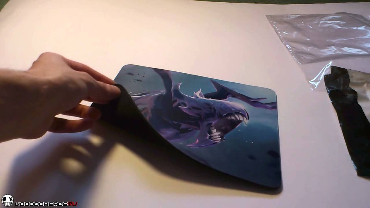 mouse pad от artscow Ънбоксинг unboxing youtube