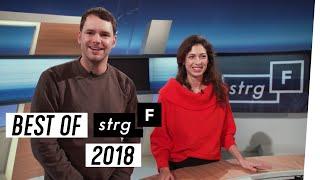 Best of 2018: Outtakes und schöne Frisuren | STRG_F