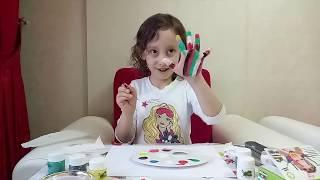 Parmaklarımı boyuyoruz Eğlenceli Çocuk Videosu