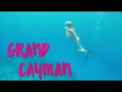 4K GRAND CAYMAN TRAVEL VIDEO 2017: DJI Drone, Stingray City, Rum Point, 7 Mile Beach