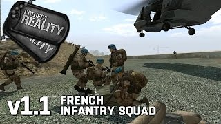 French Infantry Squad - Project Reality v1.1