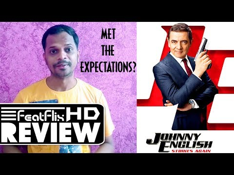 Johnny English Strikes Again (2018) Action, Adventure, Comedy Movie Review In Hindi | FeatFlix