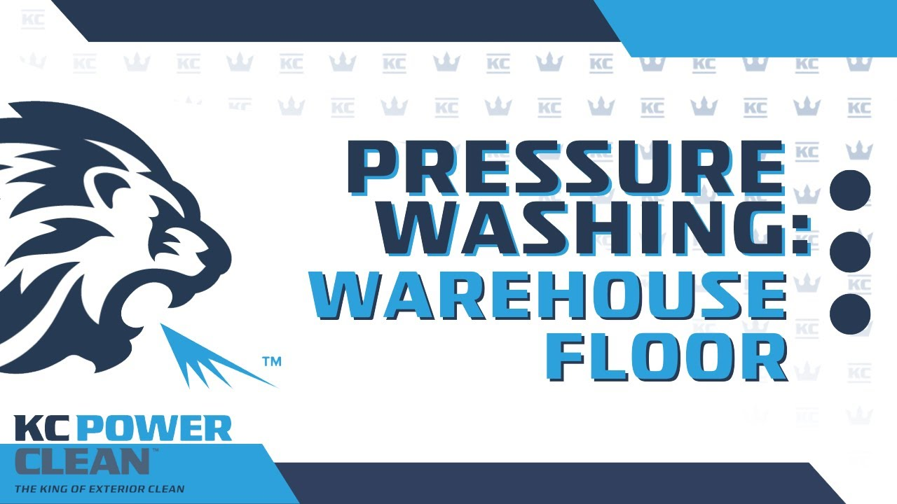 Warehouse Floor Pressure Washing Youtube