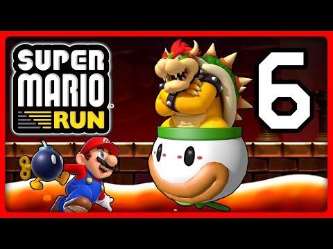 SUPER MARIO RUN Part 6: Bombiges Finale gegen Clownskutschen-Bowser
