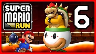 SUPER MARIO RUN Part 6: Bombiges Finale gegen Clownskutschen-Bowser