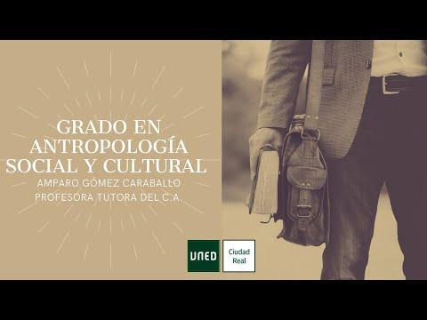 GRADO EN ANTROPOLOGÍA SOCIAL Y CULTURAL (Amparo Gómez Caraballo)