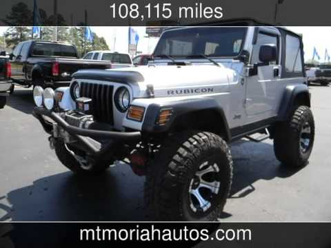 Jeeps For Sale In Tn >> 2003 Jeep Wrangler Lift Nice Rubicon Used Cars Memphis