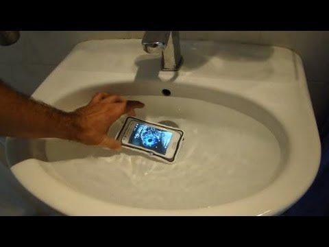 Samsung galaxy beam underwater sealabox best review youtube for Samsung beam tv