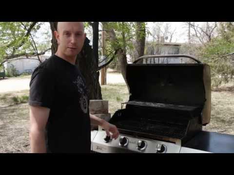 Gas Grill Setup For Smoking A Brisket