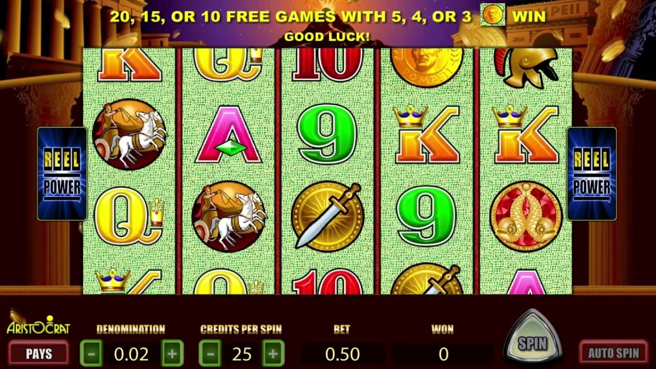 Pompeii Casino Slot Game