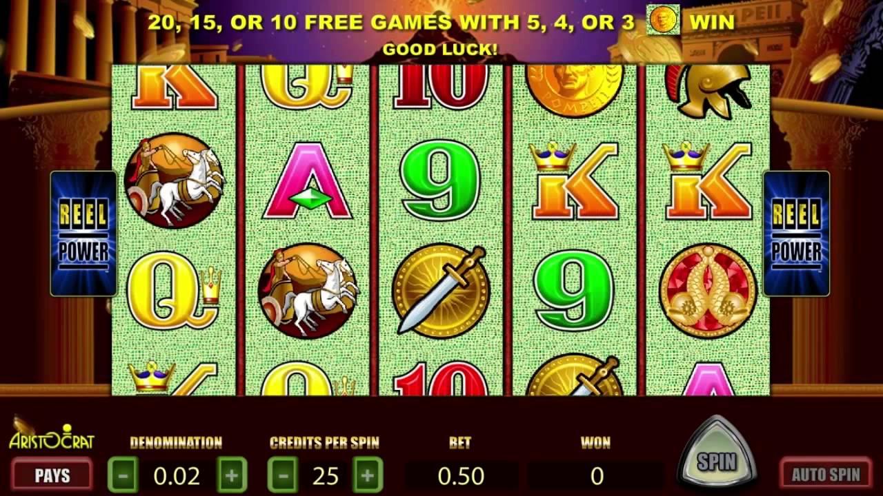 Pompeii Free Slots Machine Game Preview By Slotozilla