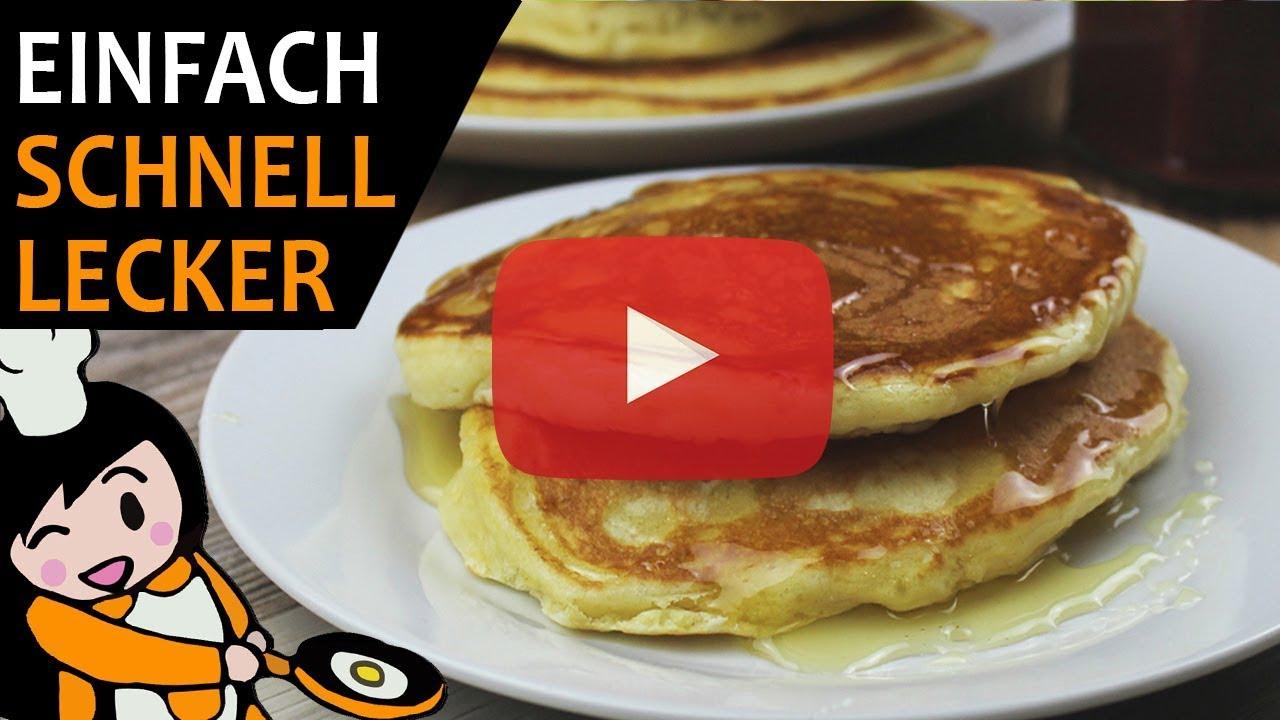 Amerikanische Pfannkuchen Rezept Videos Youtube