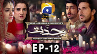 Hiddat - Episode 12 Full HD - Har Pal Geo