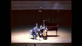 Mendelssohn Piano Trio in D minor II.Andante con moto tranquillo