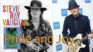 Как играть вступление Stevie Ray Vaughan - Pride and Joy