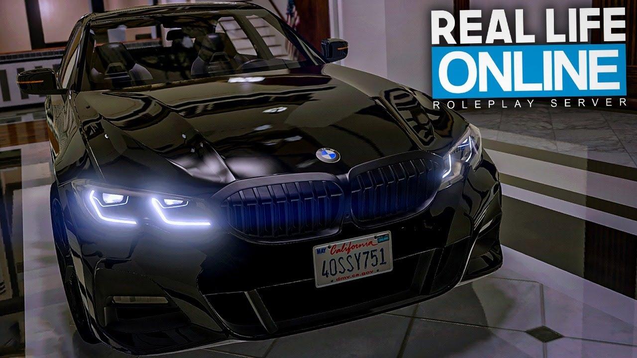 RAUBZUG MIT DEM BMW! - GTA 5 Real Life Online