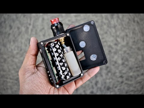 DNA75C / 20700 Squonker by ABM  (DIY Squonk Mod Part 6)