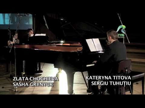 "Zlata Chochieva, Sasha Grynyuk, Kateryna Titova & Sergiu Tuhuțiu - Habanera from ""Carmen"""