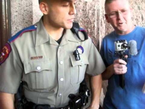 CJ Grisham Arrested at TX Capitol with TOY gun on Veterans day