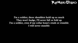 Eminem - Soldier   Lyrics on screen   Full HD