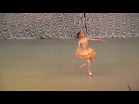 """Вариация из балета """"Пахита"""". Скребкова Ника"""