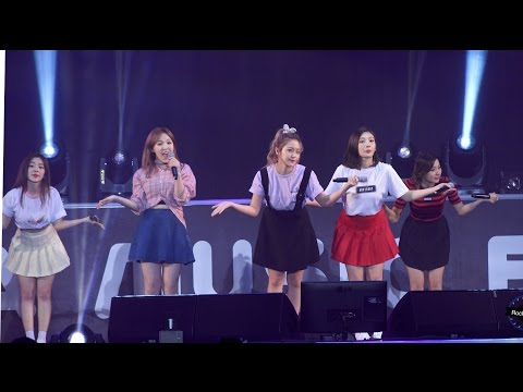 레드벨벳 Red Velvet [4K 직캠]행복 Happiness@20160521 Rock Music