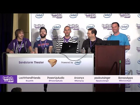 TwitchCon Game Development Channels Panel 2015 with Lachh and Bonozo!