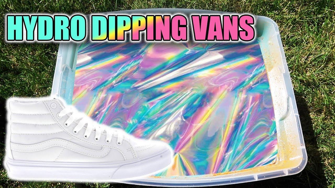 vans dipped